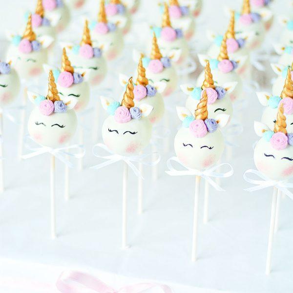Einhorn Cakepops