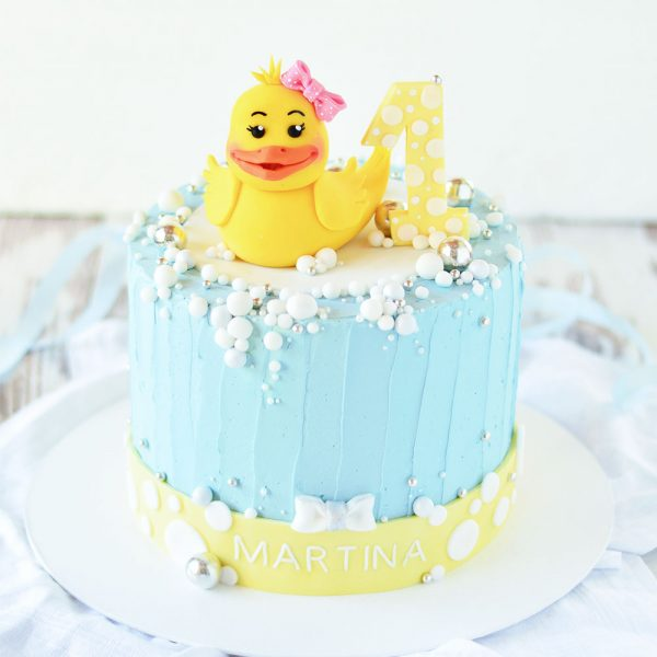 1. Geburtstag Entchentorte
