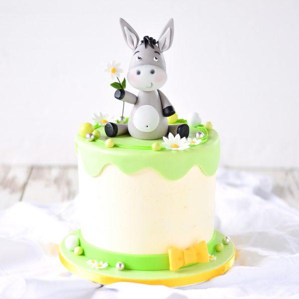 Esel-Geburtstagstorte