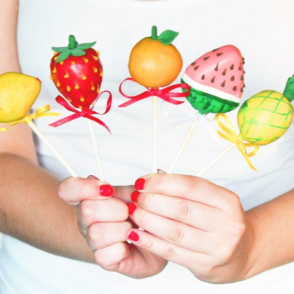 Frucht-Cakepops