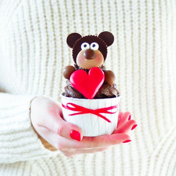 Valentinstags Cupcake