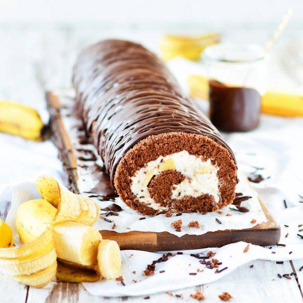 Bananenrolle