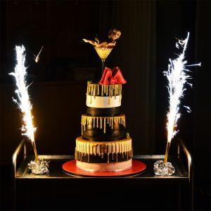 Glamouröse Geburtstagstorte