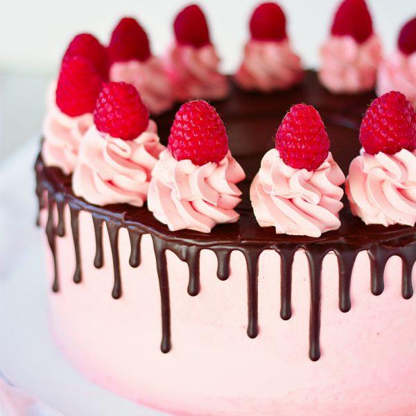 Himbeer-Schoko-Torte