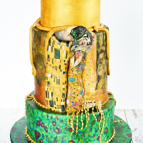 Hochzeitstorte: Gustav Klimt – Der Kuss