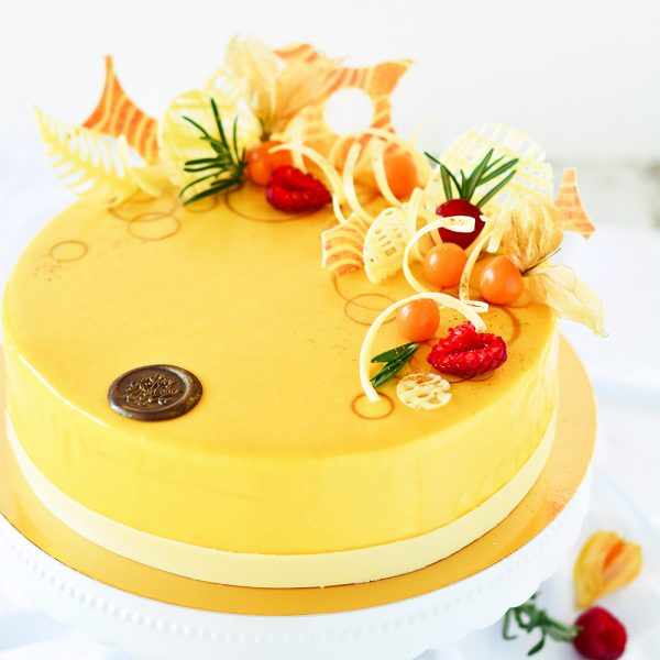 Mango-Mousse-Torte