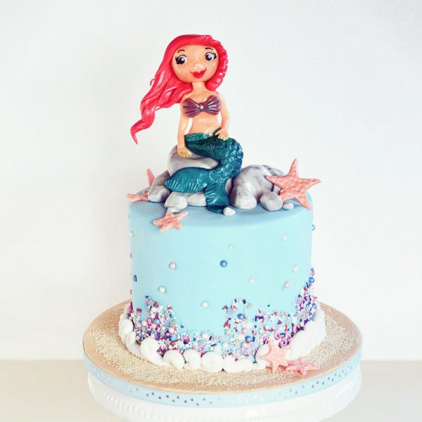 Mermaid-Torte