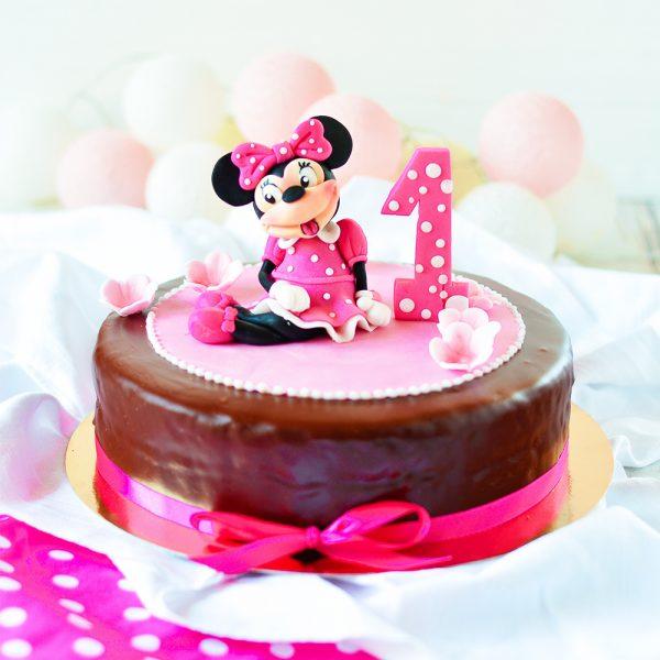 1. Geburtstag Torte rosa