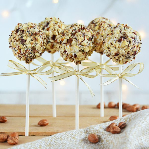Haselnuss Cakepops