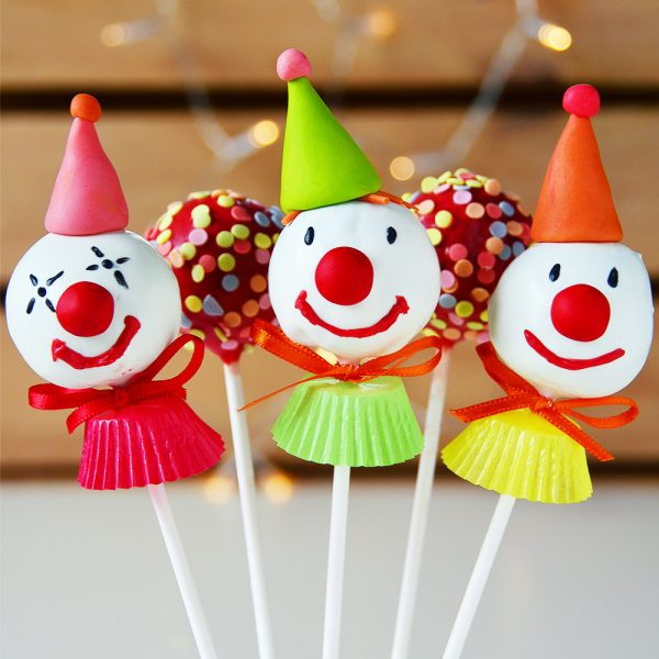 Clown Cakepops