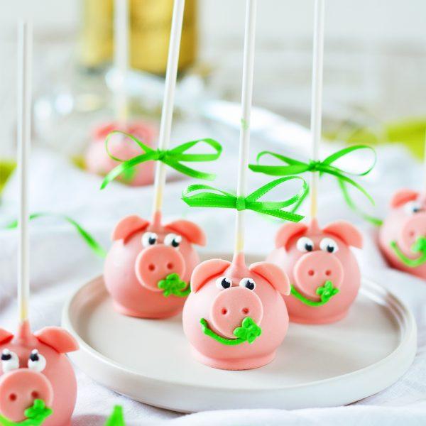 Glücksschweinchen Cakepops