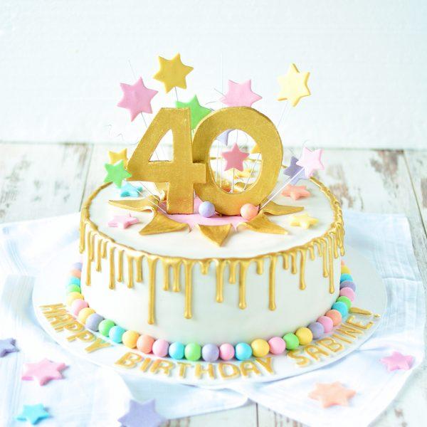 Marzipantorte Geburtstag